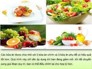 Chế độ ăn kiêng giảm cân DAS Diet