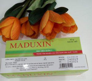 thuốc bỏng maduxin học viện quân y