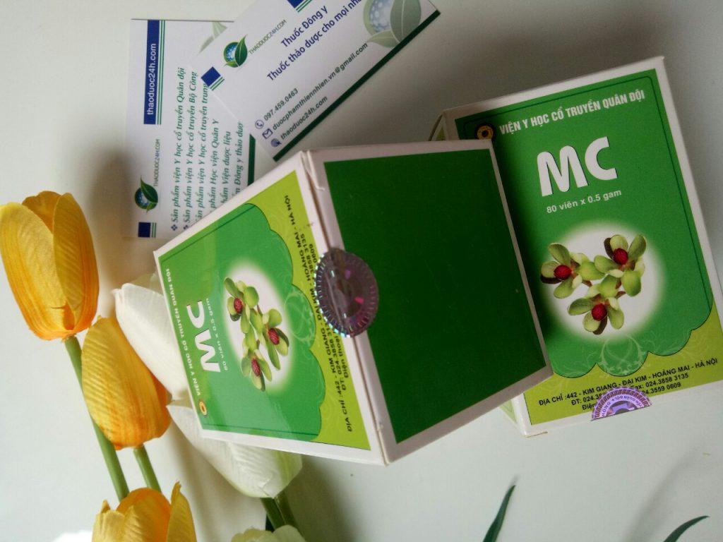 thuốc cho bệnh nhân men gan cao MC