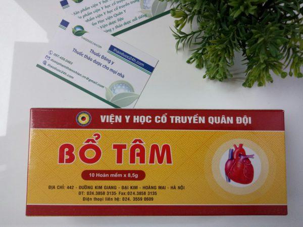 thuốc bổ tâm bệnh viện yhct quân đội